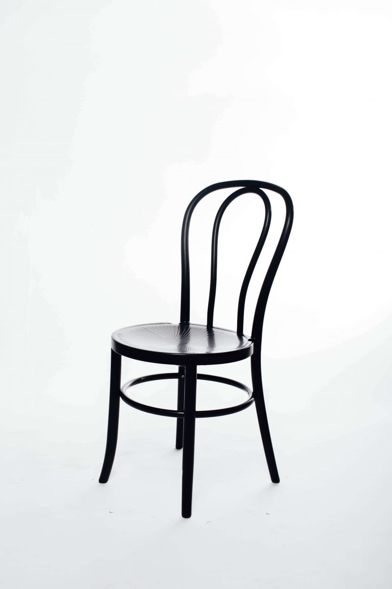 Black Bentwood Chair Hire Furniture Hire Melbourne Open