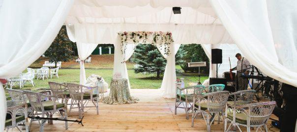 A Guide To Hosting An Elegant Backyard Wedding Open Air
